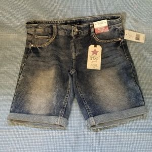 Vanilla Star bermuda jean shorts regular rise